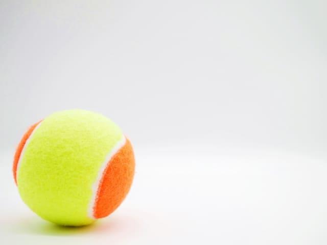部分痩せ,テニスボール
